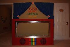 super music friends show stage!