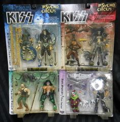 McFARLANE TOY'S KISS PSYCHO CIRCUS 全4種セット