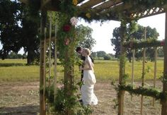 Woodland Park Vineyards in Stillwater, Oklahoma is a romantic wedding venue with homegrown vines and handmade wines.