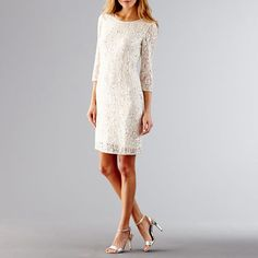 Prelude Long Sleeve Lace And Sequin Dress - JCPenneolorIvory    $59.99CLEARANCE  $160 ORIGINAL