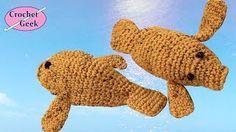 Manatee - Crochet Tutorial Video