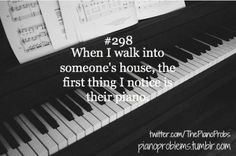 always #PianoProblems