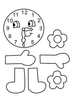 Kikker -klok (kloklezen met kikker)   PREMATEMATICAS   Pinterest ...