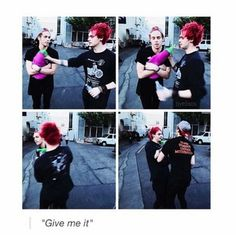 "Imagine: You're hanging out with the boys, whom you treat like your own children. ""Y/N"" they whine. You walk over there sighing and eventually wrestle the stuffed toy out of their hands claiming it's yours now, as they look at you astonished. Luke gets upset and claims he had it first and Michael just laughs as you hand it back to the little girl they stole it from. :) hehehe"