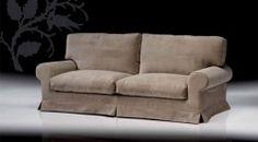 Sofá Hayas de la colección Confort con almohadones desenfundables.  • 164x93x100 cm. / 204x93x100 cm. / 224x93x100 cm.  • Disponible en diferentes telas.