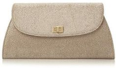 Womens gold bag from Dune - £35 at ClothingByColour.com