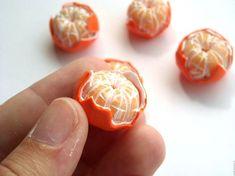 DIY Polymer Clay Clementine Tutorial