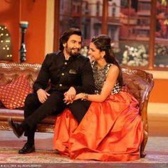 Deepika Padukone and Ranveer Singh's cosy moments