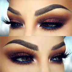 Maquiagem marrom esfumado | pinterest ↠ @dessrosa