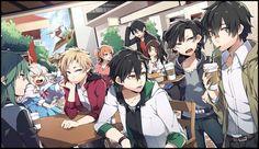 Kagerou Project / Mekakucity Actors... Kano, Shintaro, Takane, Haruka