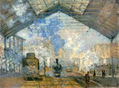 monet gare saint lazarre - Google Search