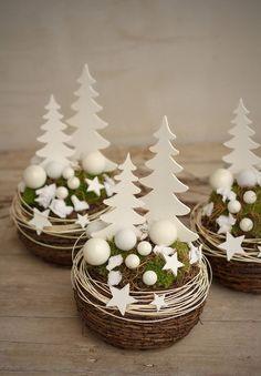 """Vánoční aranžmá """"V pohádkovém lese"""""""
