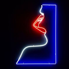 Another fantastic graphic neon illustration by @malikafavre for her most recent solo exhibition in London. Fabrication by Kemp London. www.kemplondon.com