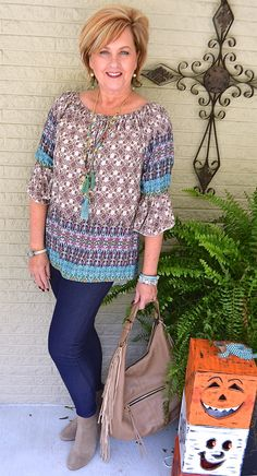 50 Is Not Old | How To Wear Jeggings