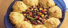 Savor chili and cornbread all wrapped up in a cozy baked casserole.