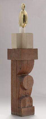 """Constantin Brancusi """"Blond Negress, II"""" 1933 (after a marble of Modern Sculpture, Abstract Sculpture, Abstract Art, Moma Art, Constantin Brancusi, Museum Of Modern Art, Art Google, Oeuvre D'art, Three Dimensional"""