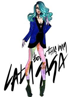 Lady Gaga - Born This Way by Armand Mehidri