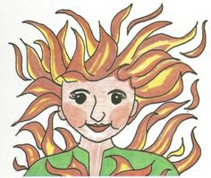Feuer und Flamme sein - German proverb (for English translation and more idioms…