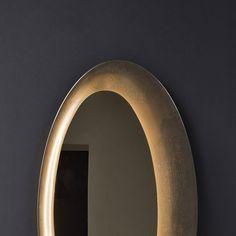 NATEVO - SATURNO MIRROR Sofa Italia, Bathroom Lighting, Mirror, Home Decor, Bathroom Light Fittings, Bathroom Vanity Lighting, Decoration Home, Room Decor, Mirrors