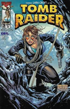 Tomb Raider Comic Issue 3 The Series Cover A First Print 2000 Dan Jurgens Park Tomb Raider Comics, Tomb Raider 3, Comic Book Covers, Comic Books Art, Comic Art, Comics Girls, Dc Comics, Strong Female Characters, Image Comics