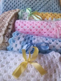 Looking for your next project? You're going to love CROCHET BABY BLANKETS with knitted set by designer Pamela Lang. - via @Craftsy
