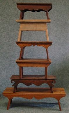Six Assorted Cricket Stools