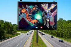pokemon yveltai and xerneas logo Pokemon Poster, Logo, Logos, Environmental Print