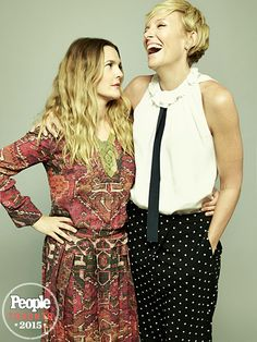"""DREW BARRYMORE & TONI COLLETTE 
