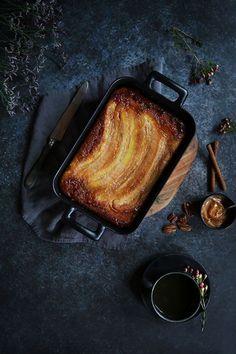 Upside down: gâteau renversé caramélisé bananes & noix de pécan | Stephatable