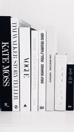 aesthetic Black and white styling books for the office. Must-have reads. Black and white styling books for the office. Must-have reads. Black And White Photo Wall, Black N White, Black And White Pictures, Black And White Photography, Black And White Books, Black And White Office, Black And White Design, Photo Wall Collage, Picture Wall