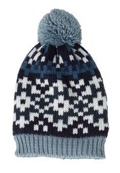 Nordic knit hat - Wide Width Women's