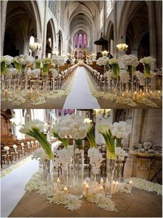 Church Weddings On Pinterest Church Pew Decorations And