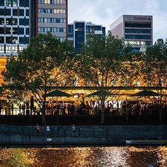 The Arbory - Trendy bar in the CBD, rather sophisticated, great drinks, great food and ridiculously amazing views of the city on the river