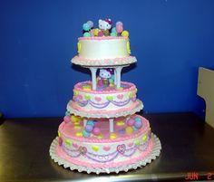 Hello Kitty birthday cake   LUUUX