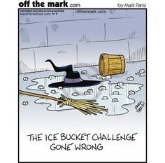 Ice bucket humour