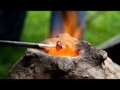 ▶ Glasperle fremstilling i Jelling - YouTube