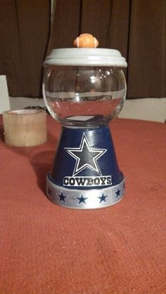 Dallas Cowboys candy dish
