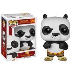 Funko Pop! Po, Kung Fu Panda, Funkomania, Cartoon