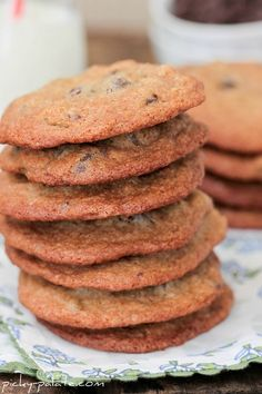 The Pioneer Woman's Malted Milk Chocolate Chip Cookies