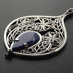 Filigree Jewelry, Sterling Silver Filigree, Silver Jewelry, Silver Rings, Wire Jewelry Patterns, Art Nouveau Flowers, Polymer Clay Jewelry, Metal, Jewelery