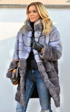 MULTICOLOR SAGA MINK FUR COAT SAPPHIRE CLASS OF JACKET FOX CHINCHILLA VEST SABLE