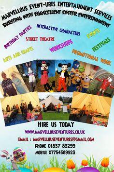 entertainer devon southwest England uk characters mascots workshops events birthdays parties