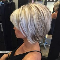 hair bob Latest Most Popular and Hottest Bob Haircuts amp; Hairstyles Inspirations for For getting a fresh new look, here are the hottest bob hair inspirations. Latest mostpopular bob hairstyles for you to try.Bob hairstyles really l. Bob Style Haircuts, Inverted Bob Hairstyles, Bob Hairstyles For Fine Hair, Hairstyles Haircuts, 2018 Haircuts, Modern Haircuts, Modern Bob Haircut, Shaggy Bob Hairstyles, Short Choppy Haircuts