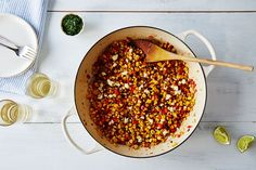 Sweet and Spicy Sriracha-Lime Corn Salad starts of your week in meals  on Food52 (the recipe is embedded under the first photo)