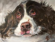 Comfort And Joy, Fine Art Auctions, Springer Spaniel, Painting Process, Fine Art Gallery, Art For Sale, Giraffe, Dog Cat, Paintings
