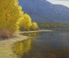 ".Kathleen Dunphy..""October Dawn"" 10x12"" oil on linen"