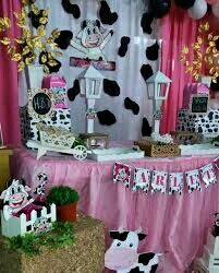 Ideas Cumpleaños, 2nd Birthday, Birthday Parties, Jessie, Babyshower, Party Themes, Farm Party, Cow Birthday, Candy Stations