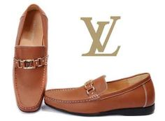 :: Louis Vuitton Men Low Shoes Brown ::