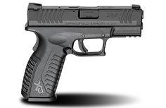 XD(M)® 3.8″ Full Size 9mm caliber #pistol in Black from Springfield Armory® #firearm #handgun