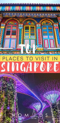 Discover the best places to visit in Singapore with this visual guide to the most amazing attractions and neighbourhoods. Get lost in the vibrant Little India, wander around the impressive Gardens By The Bay and some other beautiful destinations. Culture Of Singapore, Singapore Travel, Singapore Singapore, Little India Singapore, Malaysia Travel, Cool Places To Visit, Places To Go, Singapore Attractions, Top Place